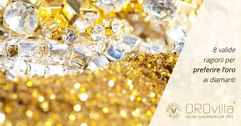 Oro o diamanti? Non è una sfida tra beni rifugio, ma…