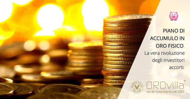 Piano di accumulo in grammi d'oro: vantaggi e svantaggi