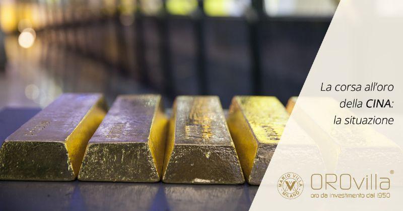 Cosa c'è dietro l'aumento delle riserve d'oro della Cina?