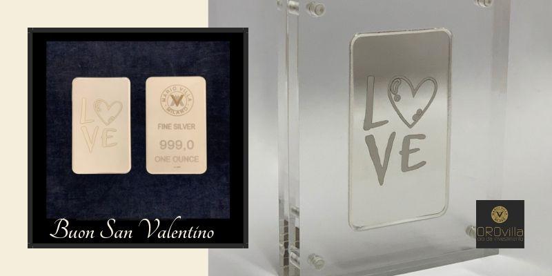 A San Valentino regala Oro, Argento e Monete