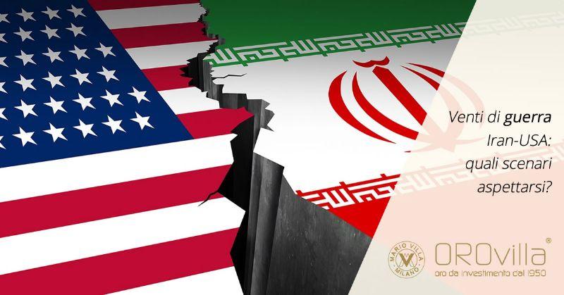 Venti di guerra Iran-USA: la corsa dell'oro e i mercati azionari