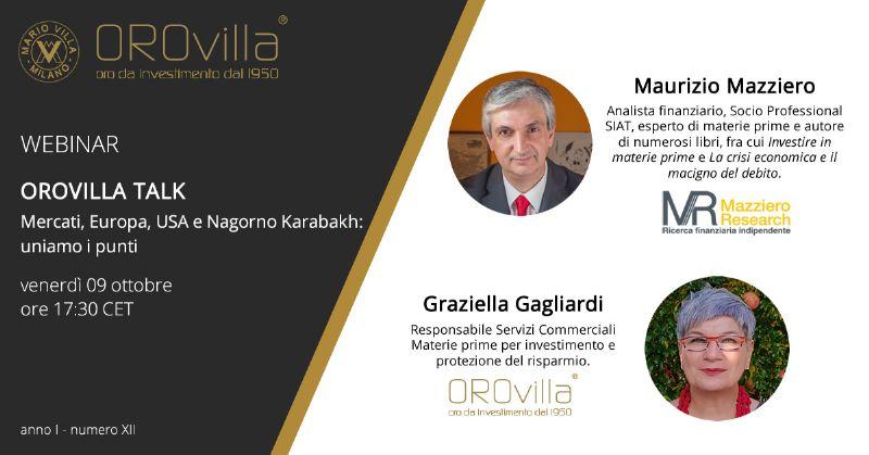 Mercati, Europa, USA e Nagorno Karabakh: uniamo i punti